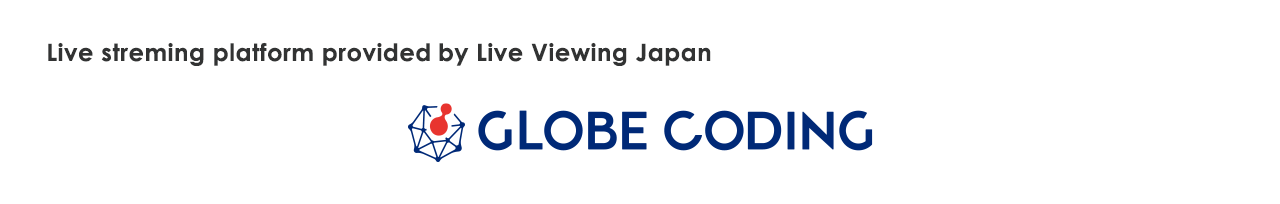 Live streming platform provided by Live Viewing Japan